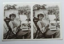 More details for miss agnes fraser victorian / edwardian actress   rotary stereoscopic series