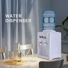 Top Loading Electric Countertop Hot and Cold Water Cooler Dispenser White