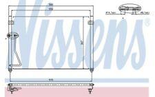 NISSENS Condensador de aire acondicionado 94428