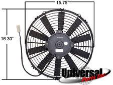 "NEW 16"" THINLINE SPAL ELECTRIC PULLER FAN 1300CFM 30100400 VA18-AP10/C-41A"