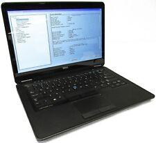 """Dell Latitude E7440 14"""" i7-4600U 2.1GHz 4GB Touchscreen NO HDD/BATT LCD Line"""