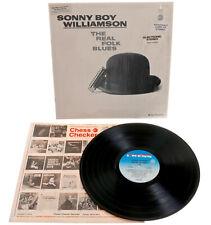 Sonny Boy Williamson The Real Folk Blues  STILL IN SHRINK DG 1st Pressing STEREO