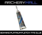 1 Bohning Fletch Tite Platinum Adhesive 3/4oz Tube Glue Arrow