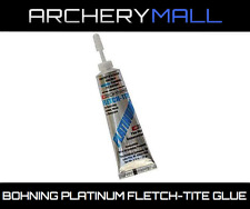 1 Bohning Fletch Tite Platinum Adhesive 3/4oz Tube Glue Arrow