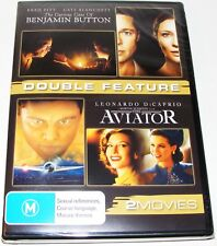 The Curious Case Of Benjamin Button / The Aviator--- (DVD 2 Disc New & Sealed)