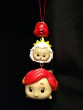 Disney Tsum Tsum Little Mermaid Christmas Ornament stack Sebastian Triton Ariel