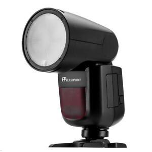Flashpoint Zoom Li-on X R2 TTL On-Camera Round Flash Speedlight Pentax Godox V1