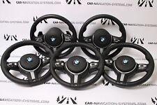 5 PCS x BMW F20 F30 F31 F34 F25 F15 genuine M style sport steering wheels