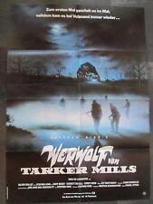 WERWOLF VON TARKER MILLS - Filmplakat A1 - Stephen King - HORROR
