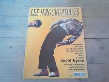INROCKUPTIBLES N°20 / DECEMBRE - JANVIER 1990 /  très bon état