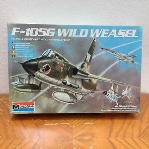 F-105G WILD WEASEL Aircraft Plastic Model Kit #5431 1:72 Monogram 1984