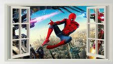 Spiderman,Sticker,3D,Superhero,Kids,Decal,Bedroom,Wall Art,Mural