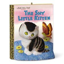 Hallmark 2016 The Shy Little Kitten Ornament