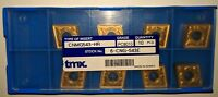 New 8 PCS TMX CNMG 543-HR / CNMG 160612-HR PC8010 Coated Carbide Inserts