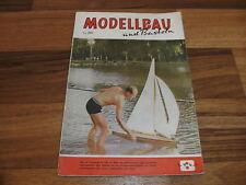 MODELLBAU und BASTELN  # 6.8.1961 -- Zeitschrift für DDR Heimwerker/Geburtstag ?