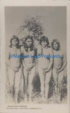 ARGENTINA INDIOS DEL CHACO BELLEZAS INDIAS REAL PHOTO