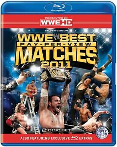 WWE: The Best PPV Matches of 2011 Blu-ray (2012) John Cena 2 discs