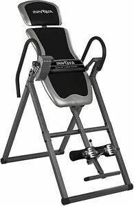 Innova ITX9600 Inversion Table with Adjustable Headrest, Reversible Ankle Holder