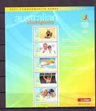 Australia Sheet Sports Postal Stamps