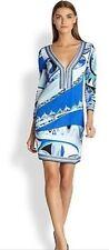 Jersey Knee Length Geometric Dresses for Women