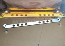 Polished Billet Aluminum Rear Subframe Brace Tie Bar For 1994-2001 Acura Integra