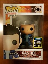 SDCC Castiel Funko Pop! Supernatural Castiel French Mistake pop television #95