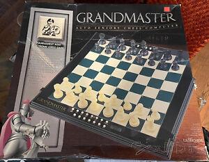 Excalibur Grandmaster Chess Auto Sensory Computer 747K Electronic Board Game