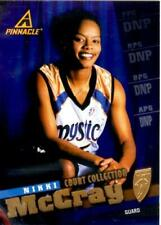 Wnba Basketball 1998 Pinnacle Gold Nikki McCray Court Collection #48 Mystics