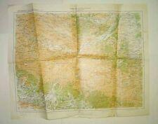 Russia,Azerbaijan,Dagestan,Kuba,special military map,RARE