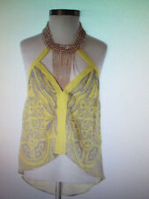 bebe chain halter top xxs new sold out               #349