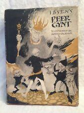 Arthur Rackham - Ibsen's Peer Gynt - 1st/1st 1936 in Original Jacket - 12 Plates