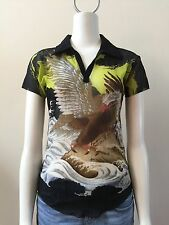 Jean Paul Guiltier Mens Tatoo shirt, Size Small