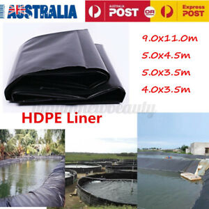 Fish Pond Liner Gardens Landscaping Pools HDPE Membrane Reinforced Impervious