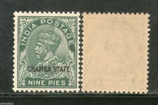 India CHAMBA State 9ps KG V Postage Stamp SG 64a / Sc 61 Cat £10 MNH