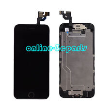 for iPhone 6 LCD Touch Screen Digitizer Home Button Camera Replacement Black UK