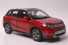 Suzuki Vitara car model in scale 1:18 red