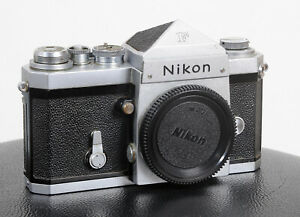 *RARE* 1965 NIKON F 'RED DOT' NIPPON KOGAKU Eyelevel Prism Body...GREAT SHUTTER!