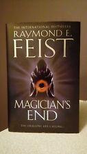 Raymond E Feist - Magician's End - Hardback - 1st Edition / 1st Print - MINT
