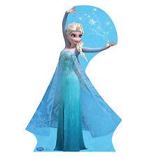 SNOW QUEEN ELSA Disney Frozen Snowflakes CARDBOARD CUTOUT Poster Standee Standup
