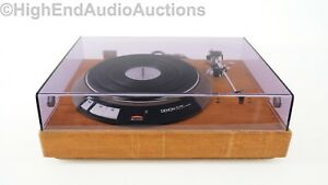 Denon DP-3000 Direct Drive Turntable - Audiocraft Tonearm - Audio Technica Cart