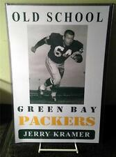 "JERRY KRAMER ""Old School Green Bay Packers"" Poster"