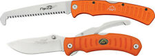 NEW OUTDOOR EDGE FLIP 'N BLAZE/SAW COMBO FCB-30 COMPACT KNIFE