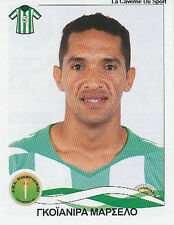 N°240 MARCELO GOIANIRA PANTHRAKIKOS STICKER PANINI GREEK GREECE LEAGUE 2010