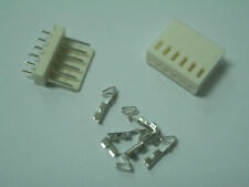 5 set 6 Pin 6P PCB Power Connector Plug Socket header wire Jack 2510 2.54mm