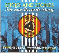 STICKS AND STONES THE SUE RECORDS STORY - 2 CD BOX SET