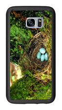 Blue Robin Eggs In Nest For Samsung Galaxy S7 G930 Case Cover by Atomic Market