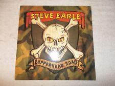 LP 12 inch Record Vinyl Album Steve Earle Copperhead Road 1988