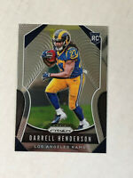DARRELL HENDERSON 2019 Prizm BASE ROOKIE RC #330! RAMS! CHECK MY ITEMS!