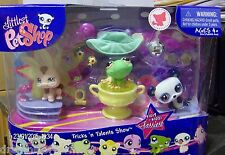 Littlest Pet Shop Tricks N Talents Show #1019 1020 1021 theme set New Rare