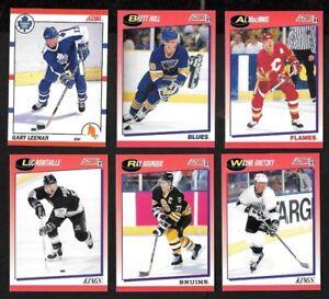 PINNACLE SCORE PROSET PARKHURST PACIFIC PROMO SAMPLE NHL HOCKEY CARD SEE LIST